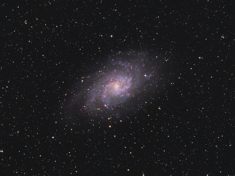 The Triangulum Galaxy by Robert Huerbsch