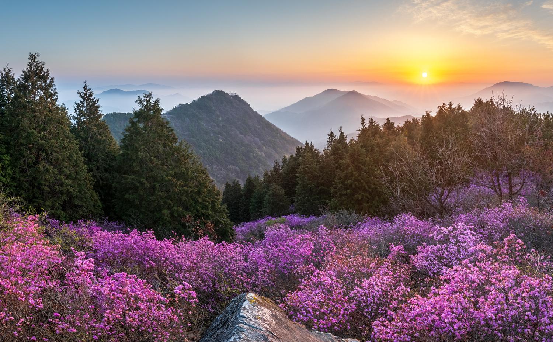 Morning of Cheonjusan by jaeyoun Ryu