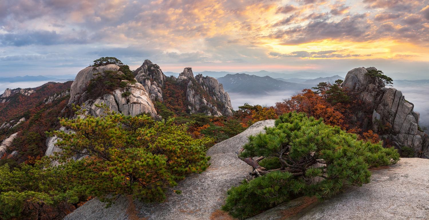 Autumn in Dobongsan by jaeyoun Ryu