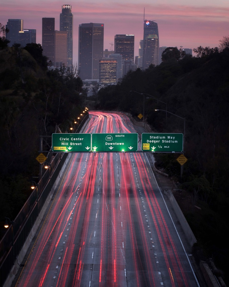 Downtown Los Angeles by Diego Rangel
