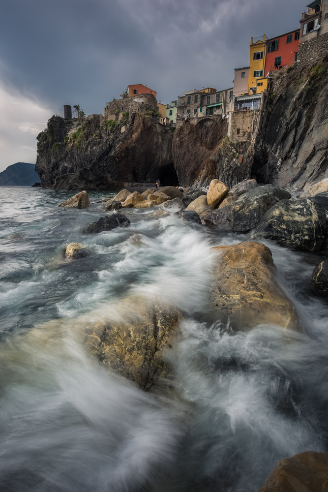 Stormclouds over Cinque Terre by Tobias Käter