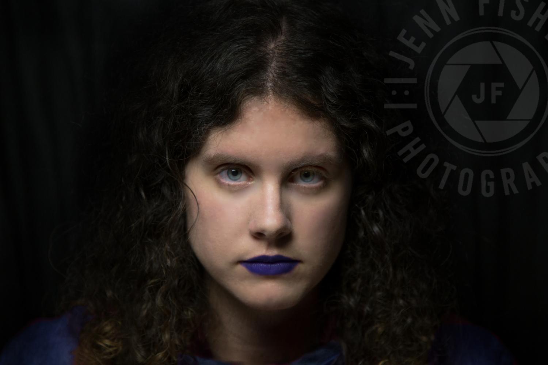 Dark Portrait  by Jenny Fisher