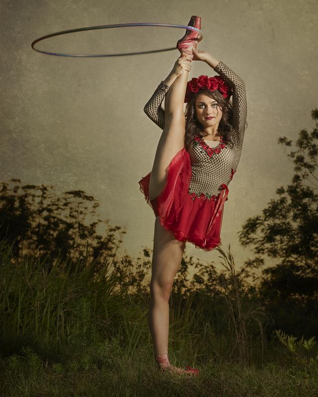 Caitlin Hula Hooper by Kirk Marsh