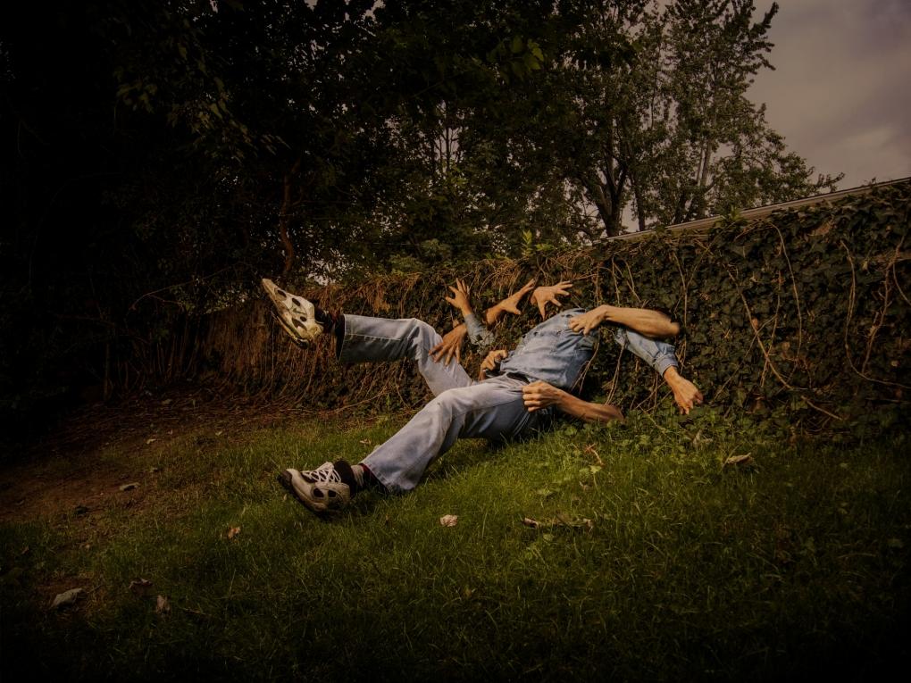 Troubled Gardener by Kirk Marsh