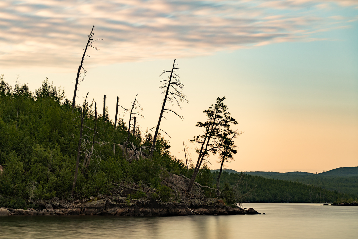 Morning Wood BWCA by Jerome Brill