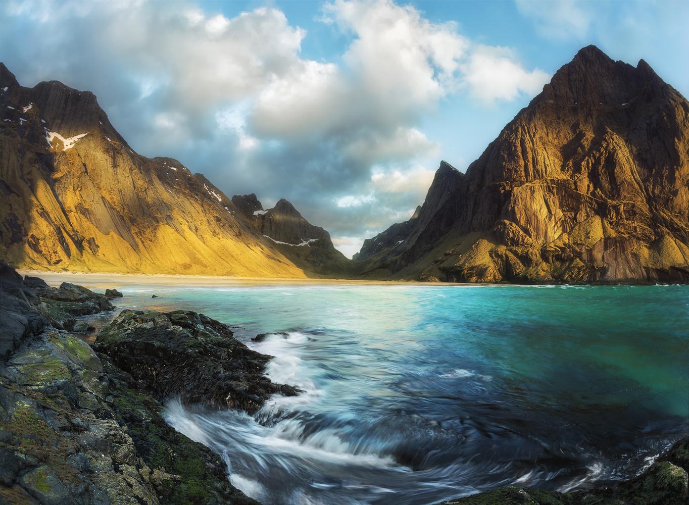 Lofoten Islands - Horseid Beach by Tim Schiphorst