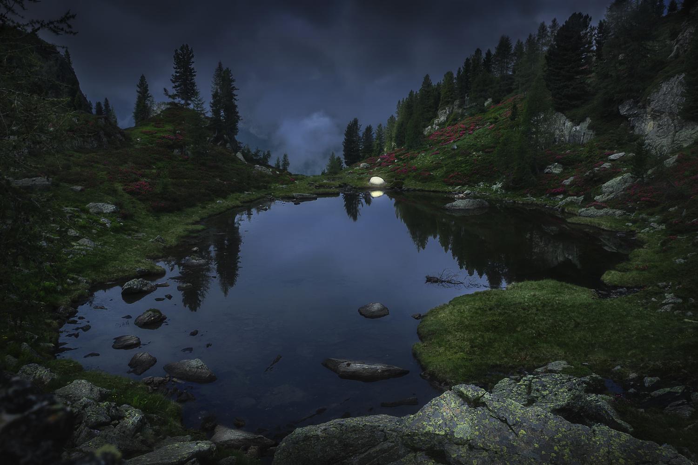 Wildcamping in Dolomites by Tim Schiphorst