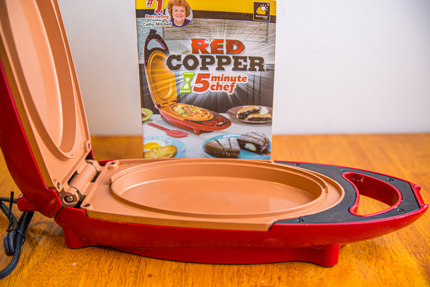 Red Copper Chef by Gary Brosius