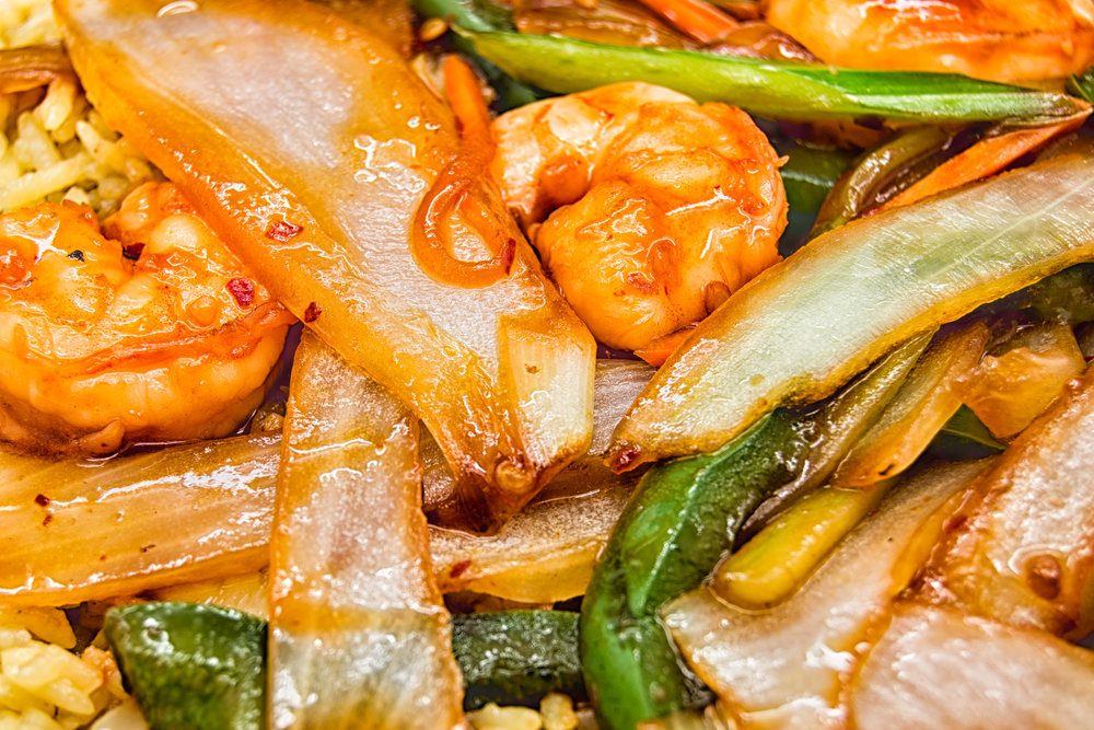 Hot & Spicy Shrimp by Gary Brosius
