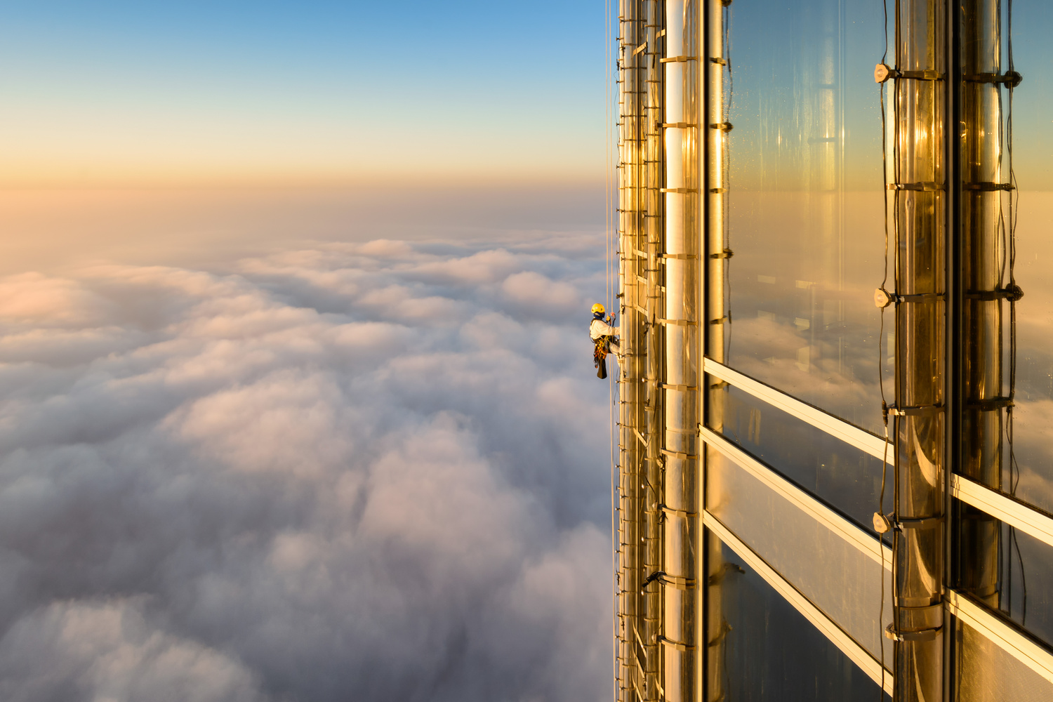 Burj Khalifa Window Cleaner by TEOVEL IRADON