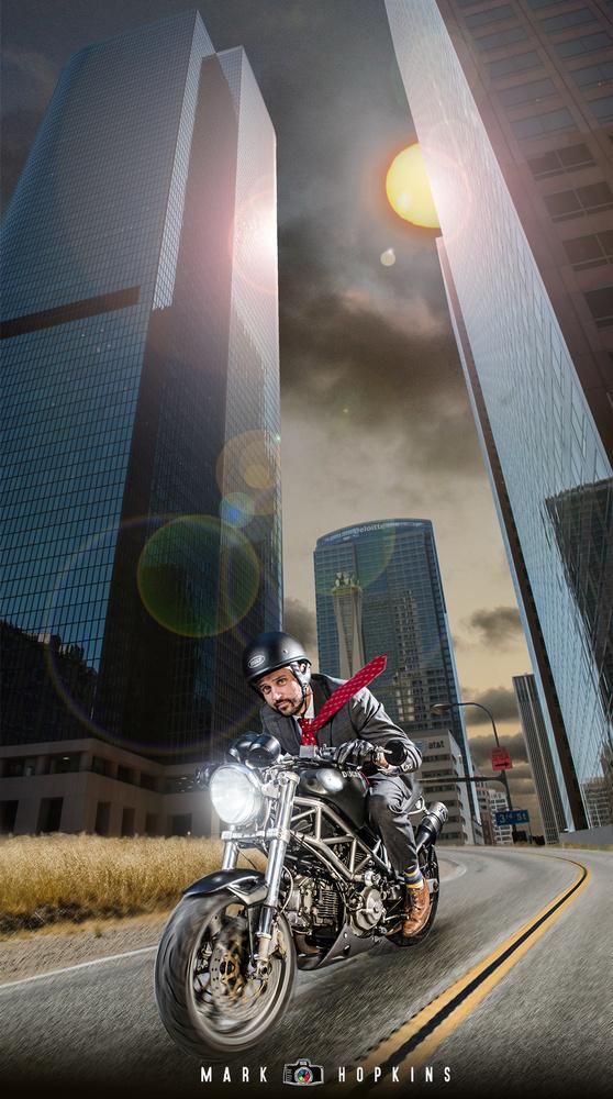 Ducati in LA by Mark Hopkins