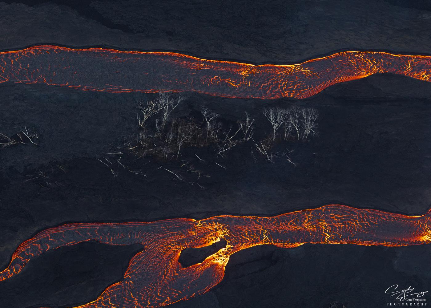 lava channels by Cody Yamaguchi