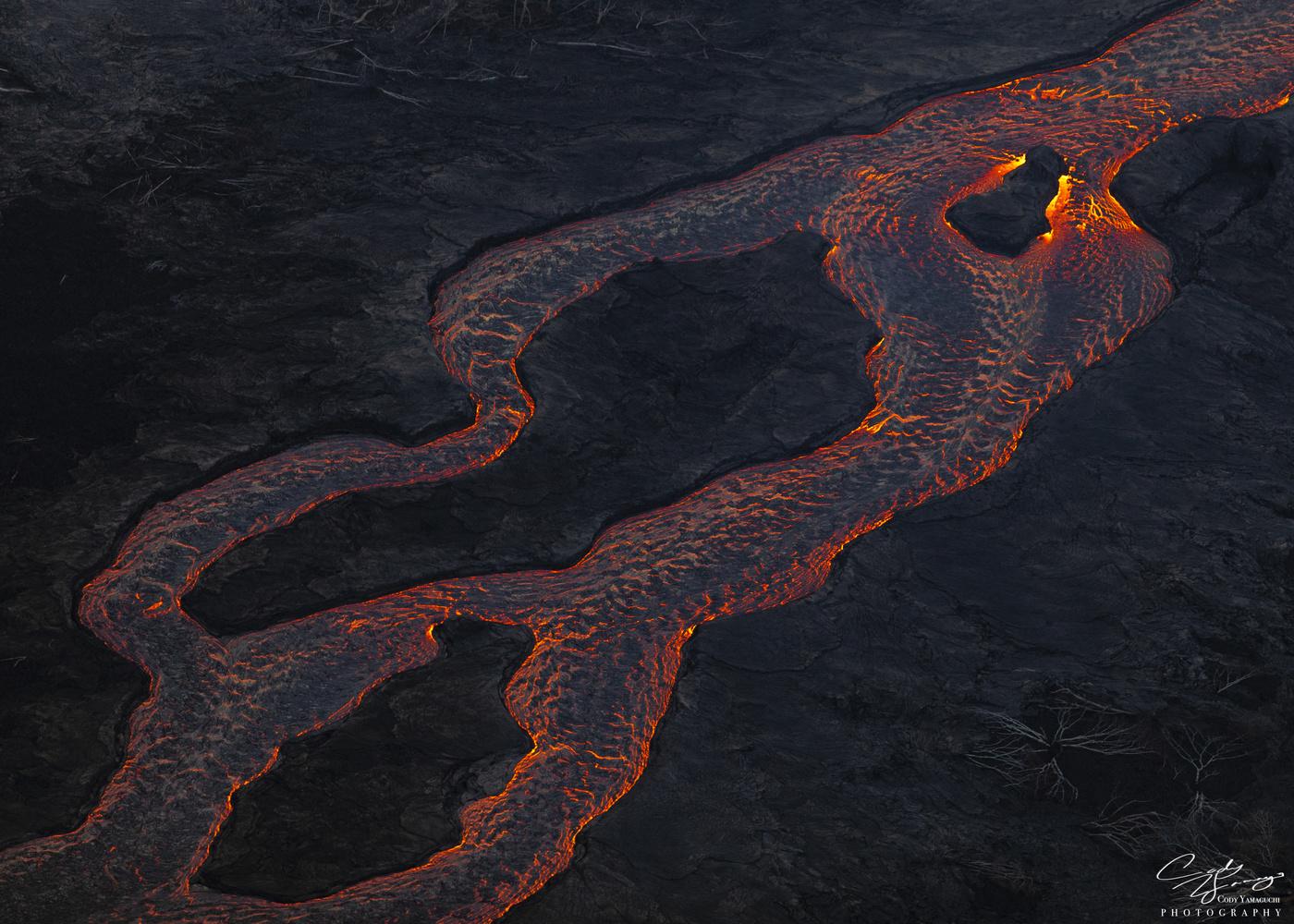 Lava abstract by Cody Yamaguchi