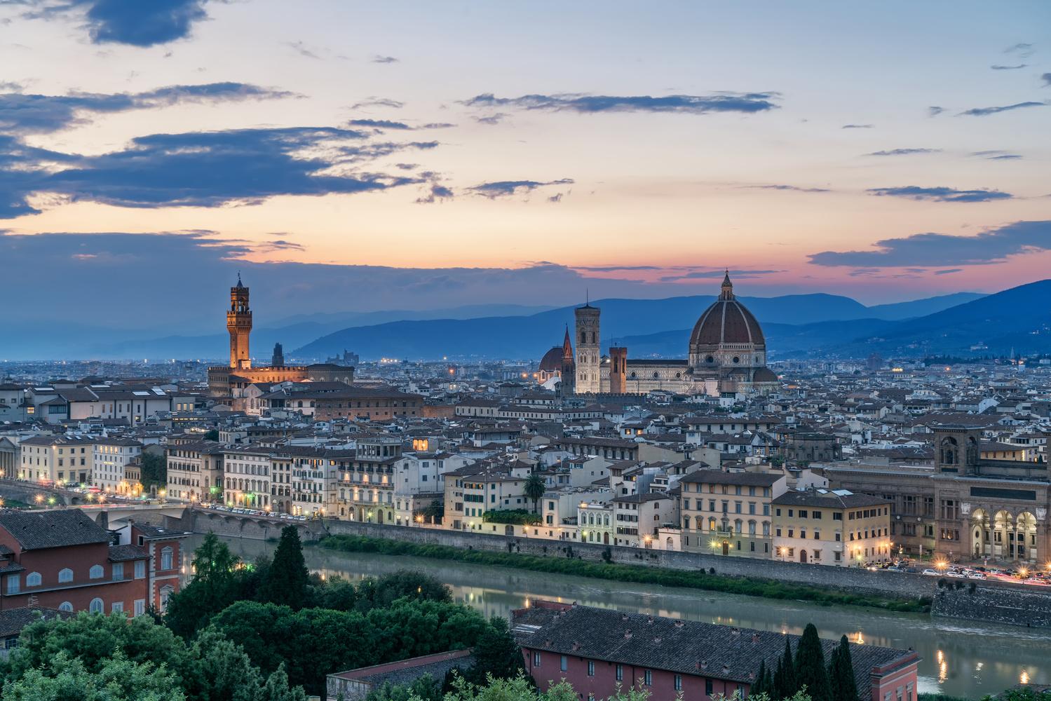 Duomo in Florence by Hrvoje Vrljic