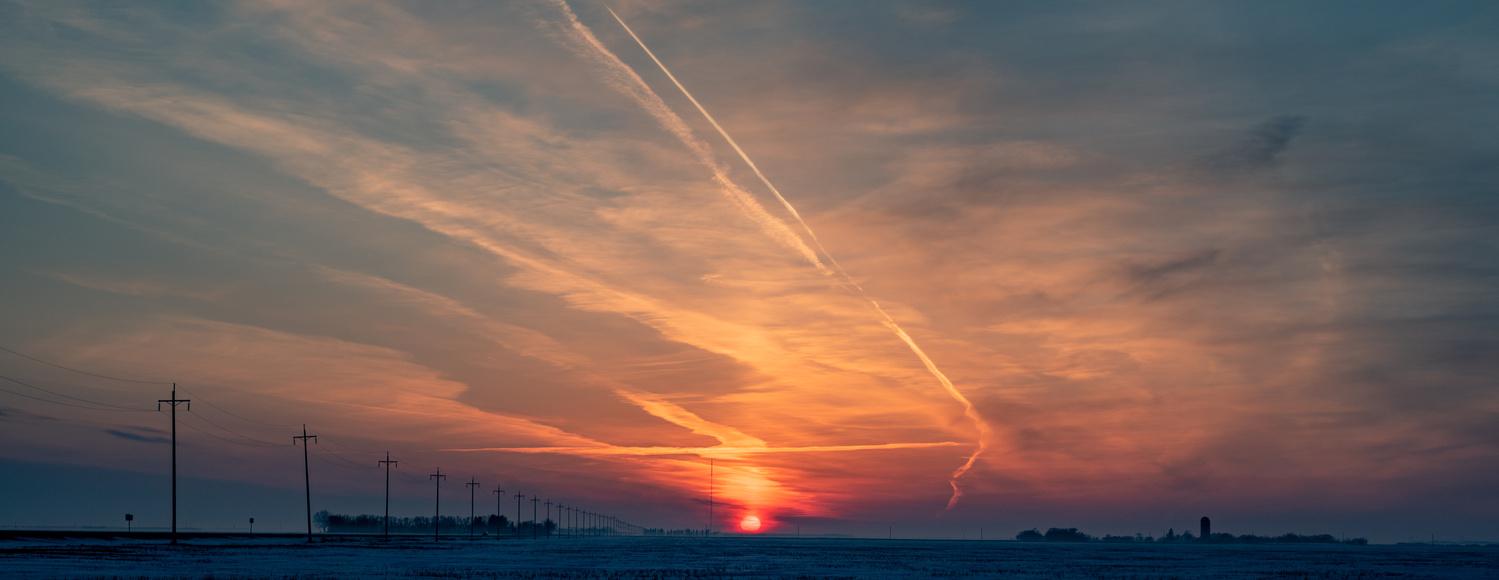 Prairie Sunset by Alejandro Penner