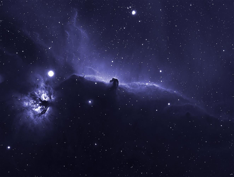 Horsehead nebula by Peter Moss