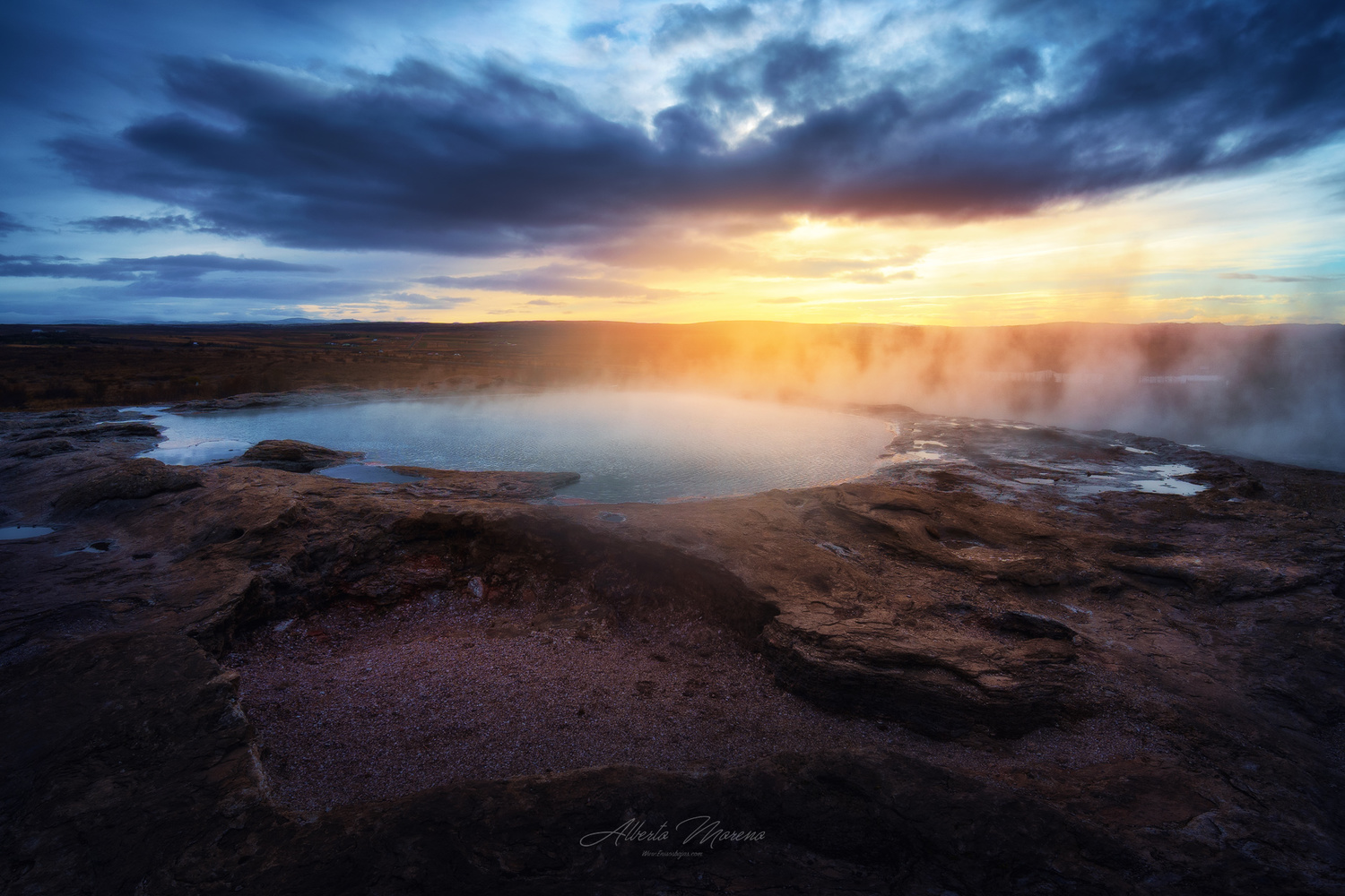 Earth, water and fire by Alberto Moreno