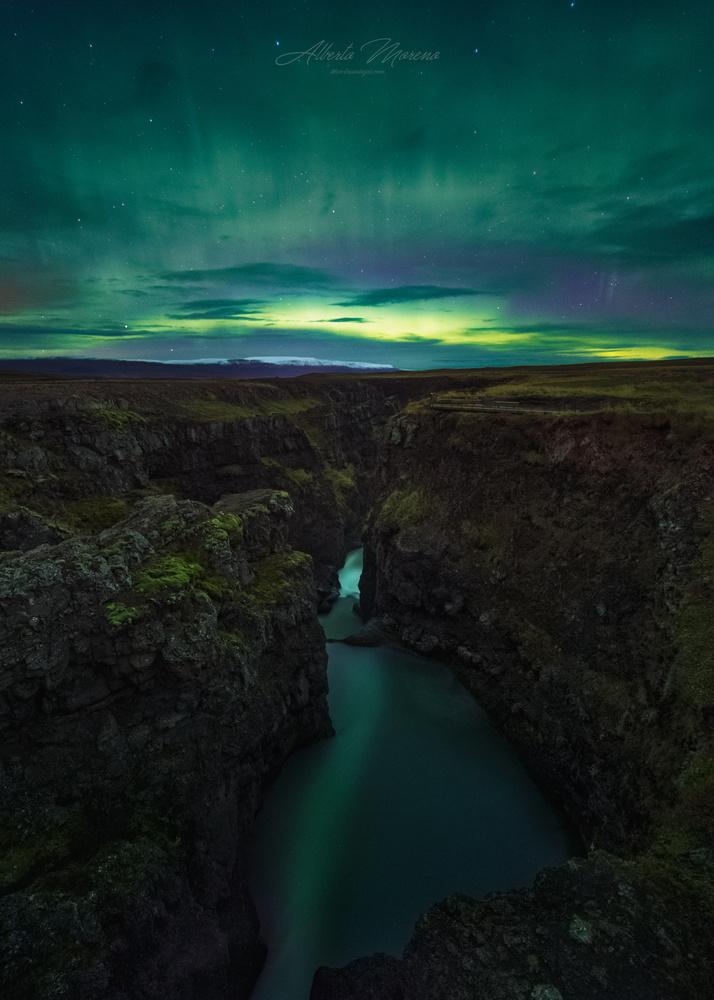 Canyon's Boreal by Alberto Moreno