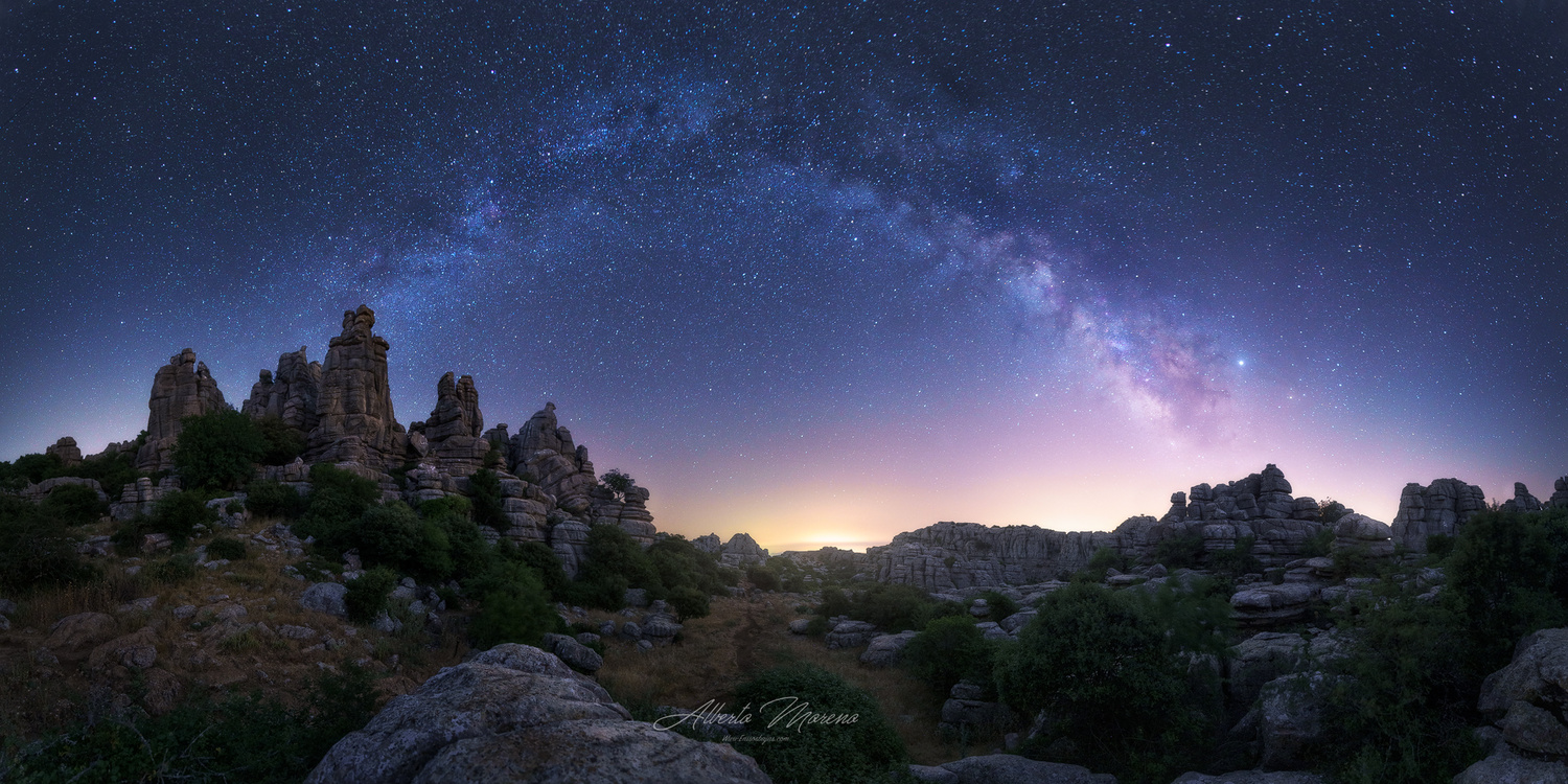Torcal Cathedrals by Alberto Moreno