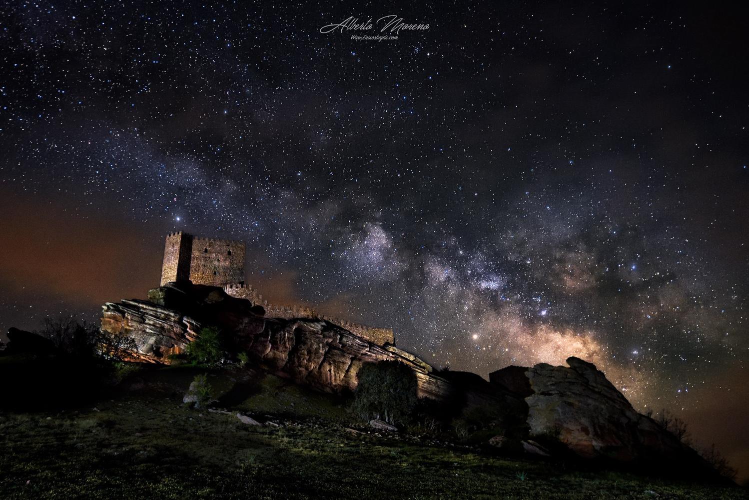 Zafra Castles by Alberto Moreno