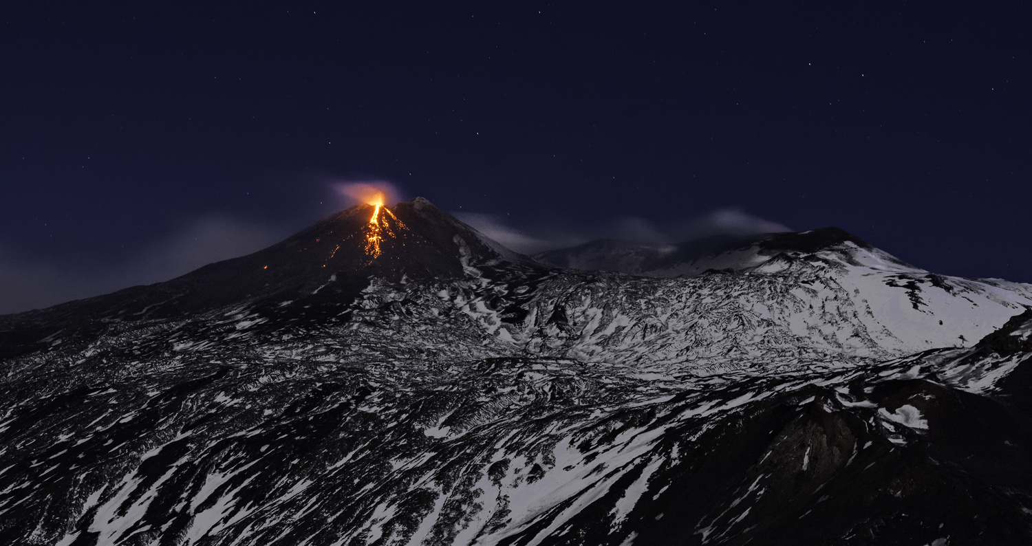 The Eruption, Mount Etna by Gianluca Caruso