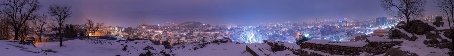 The City Dreams... by Adi Ivanova