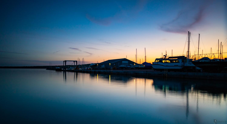 Sunset at the Marina by Josh Kummerow