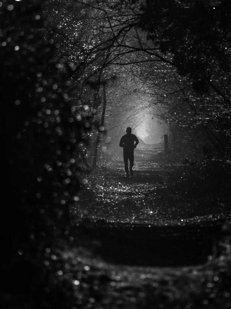 Morning runner by Tomasz Kowalski