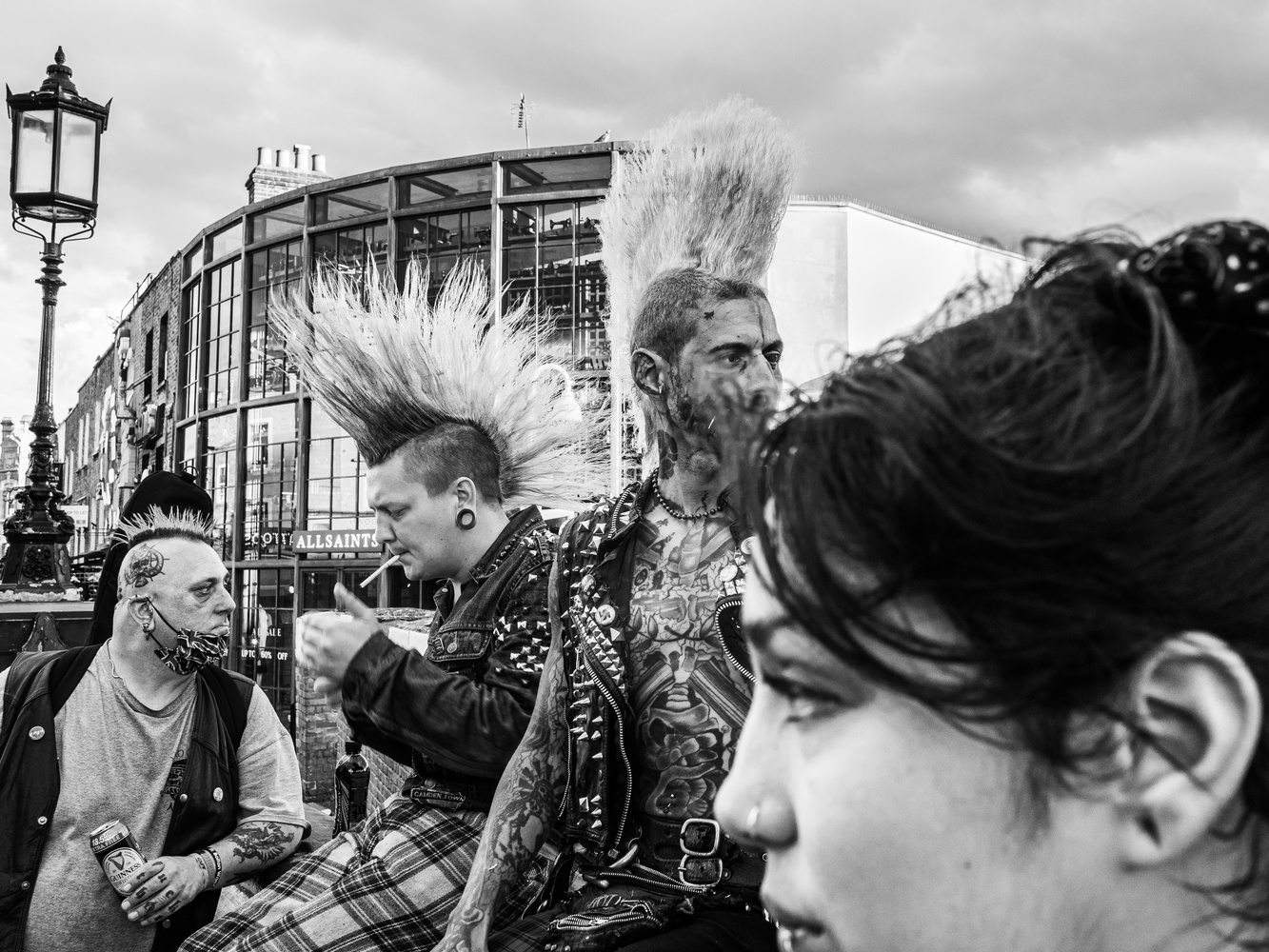 Punk's from Camden Town by Tomasz Kowalski