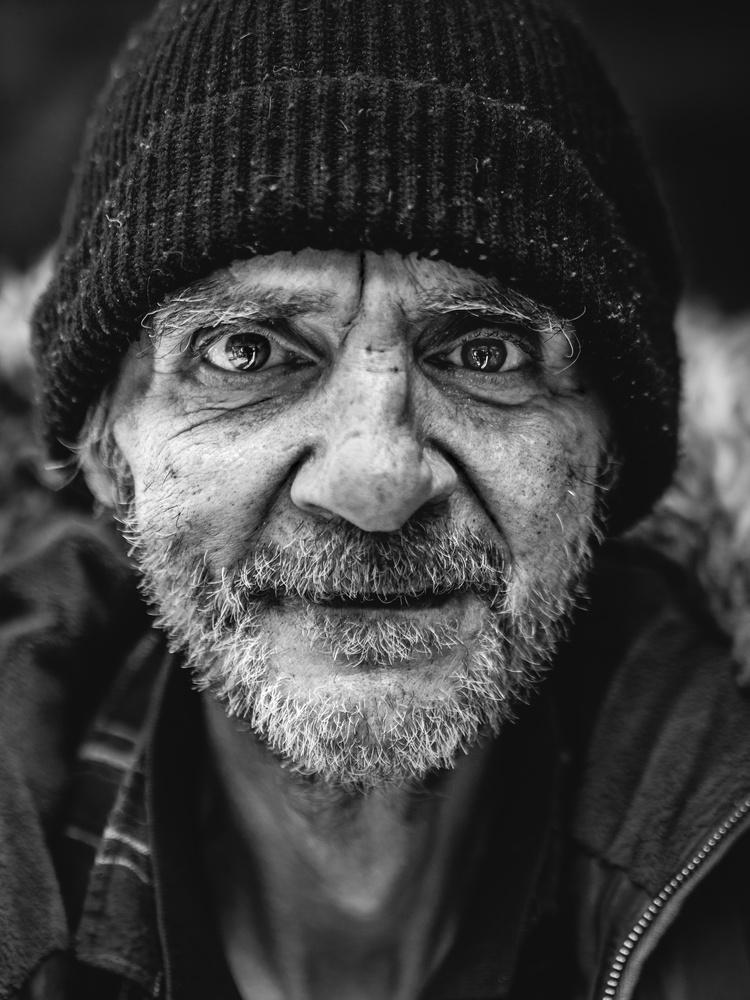 Street portrait of Franco by tomas doe