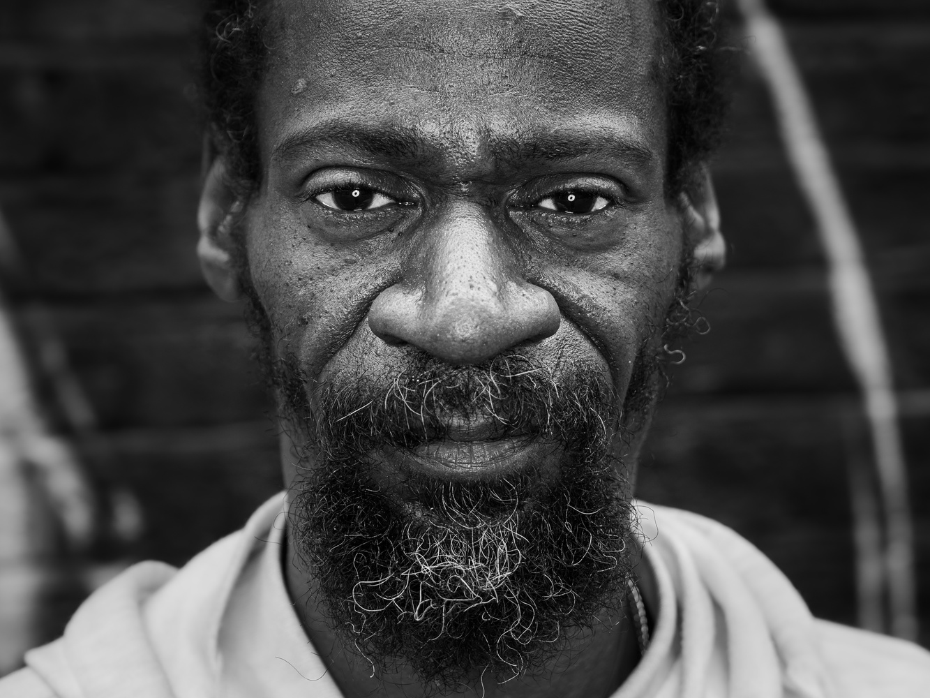 Street Portrait of Ojay by tomas doe