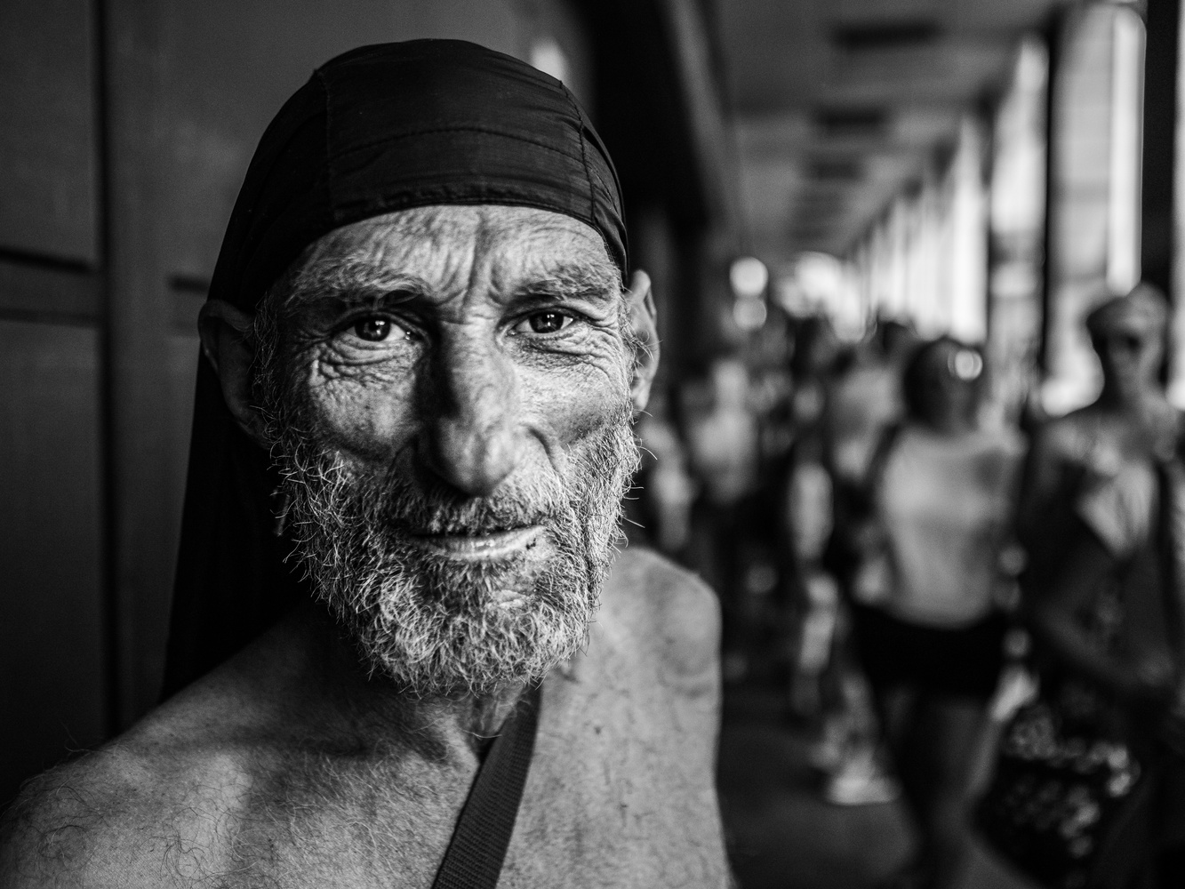 Street Portrait of Simon by tomas doe