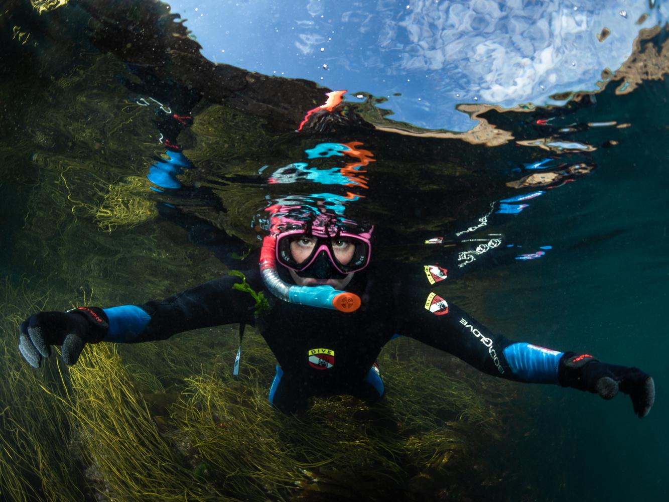 Snorkeling by Tomasz Kowalski