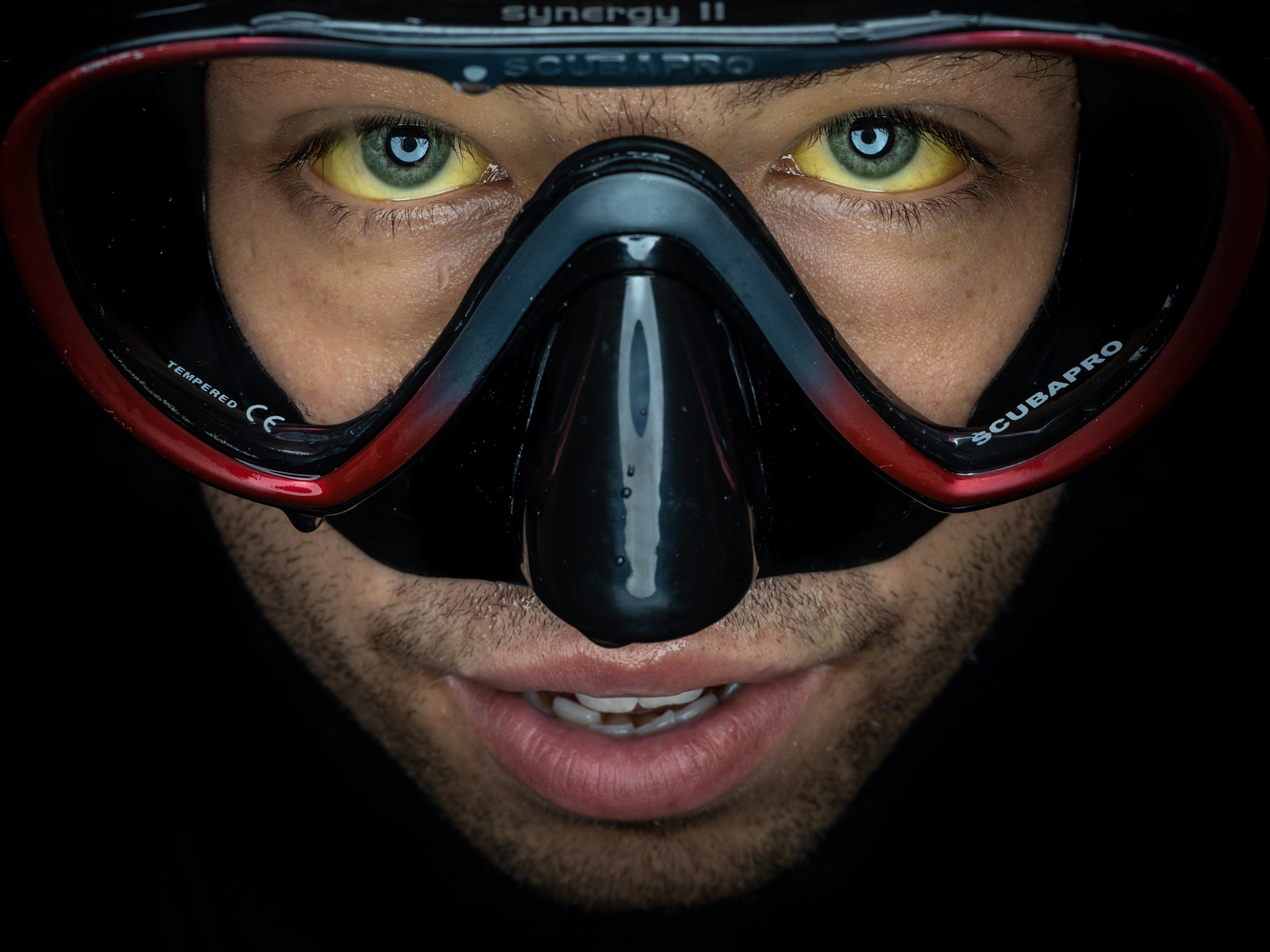 Faces of Divers - Phil Modro by Tomasz Kowalski