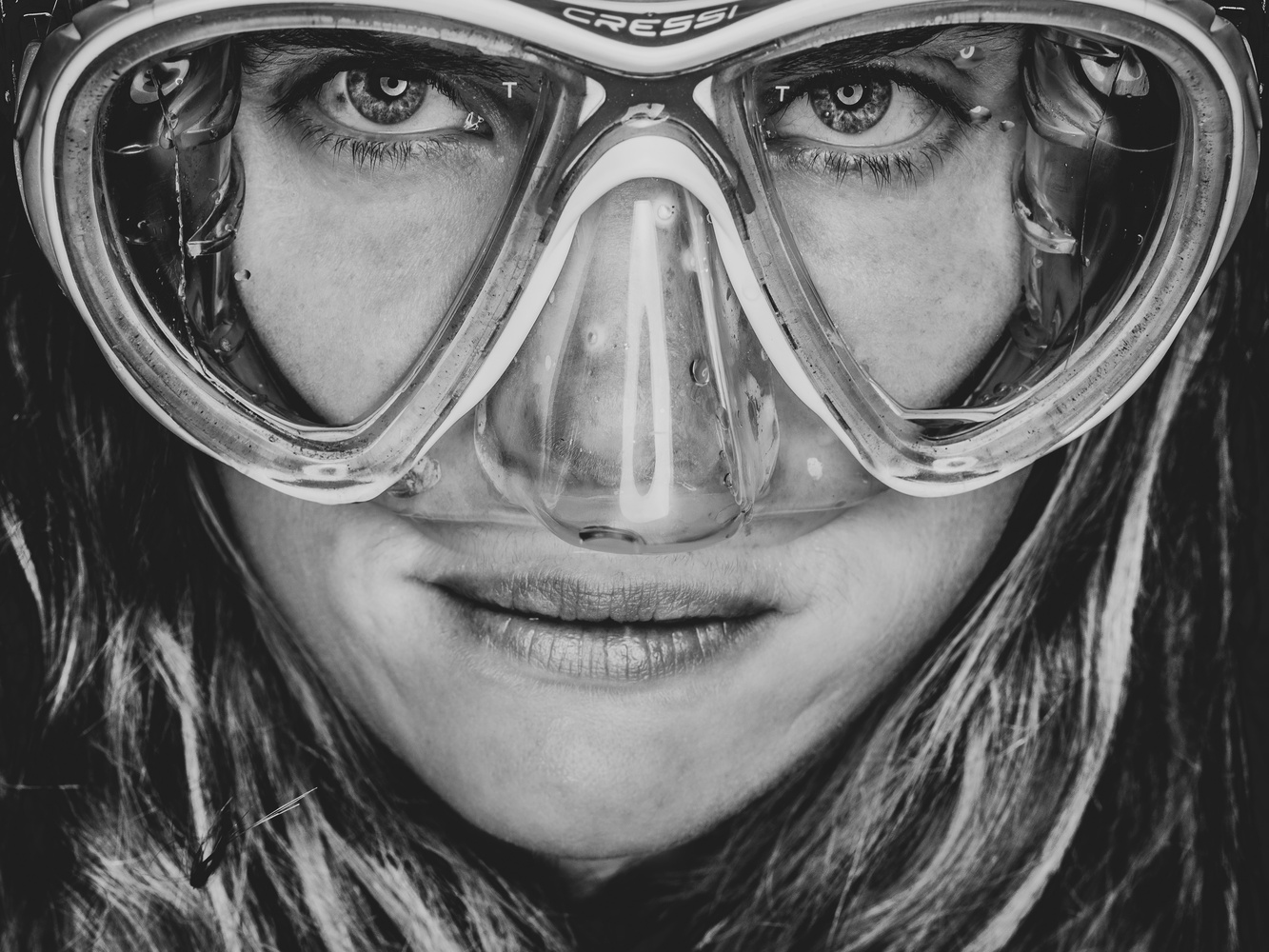 Faces of Divers - Anthea Iles by Tomasz Kowalski