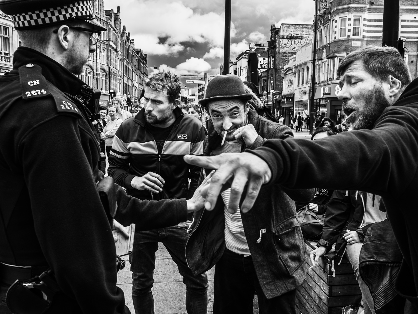 The Kings of Camden Town by Tomasz Kowalski