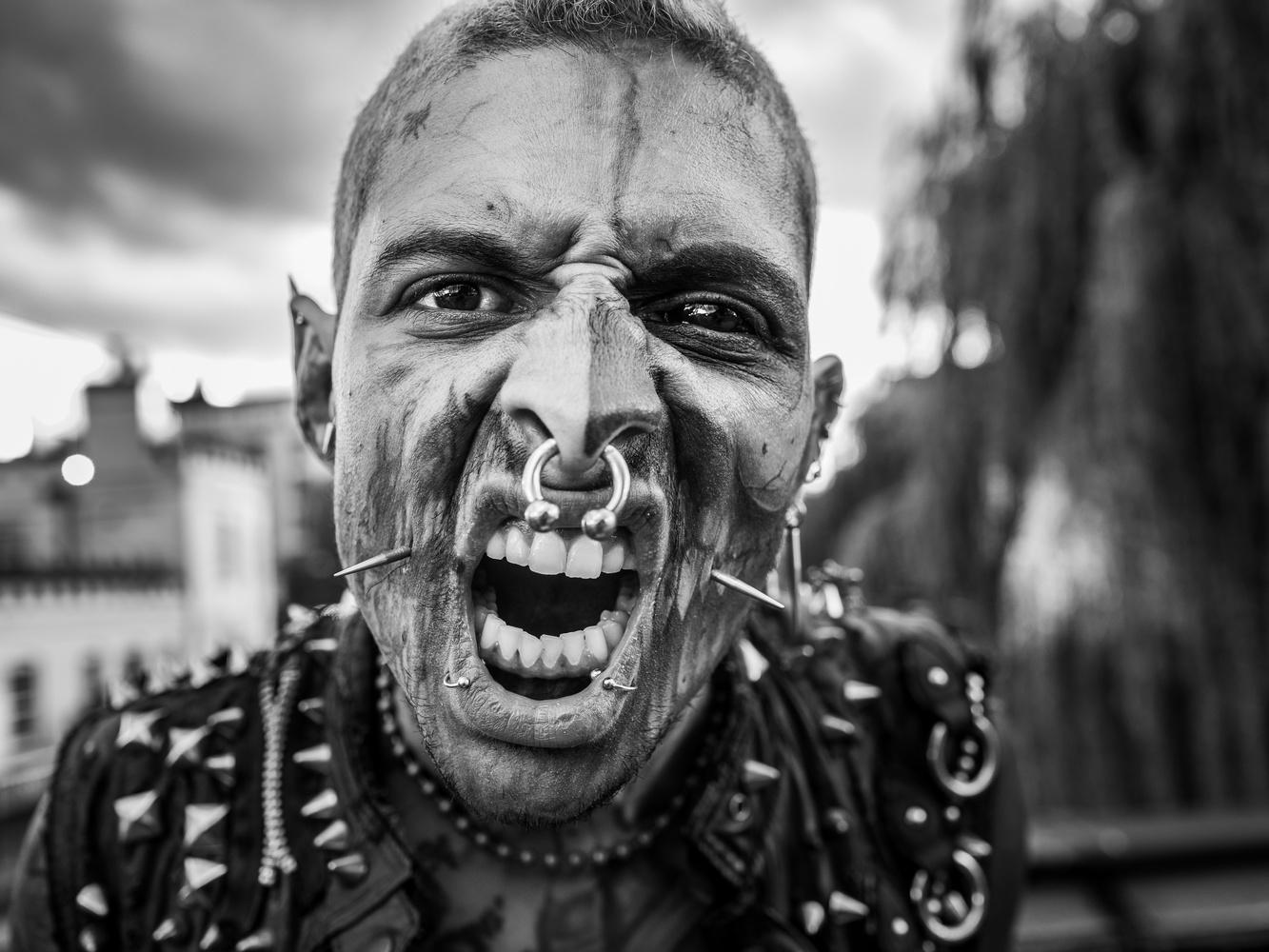 Zombie Punk by Tomasz Kowalski