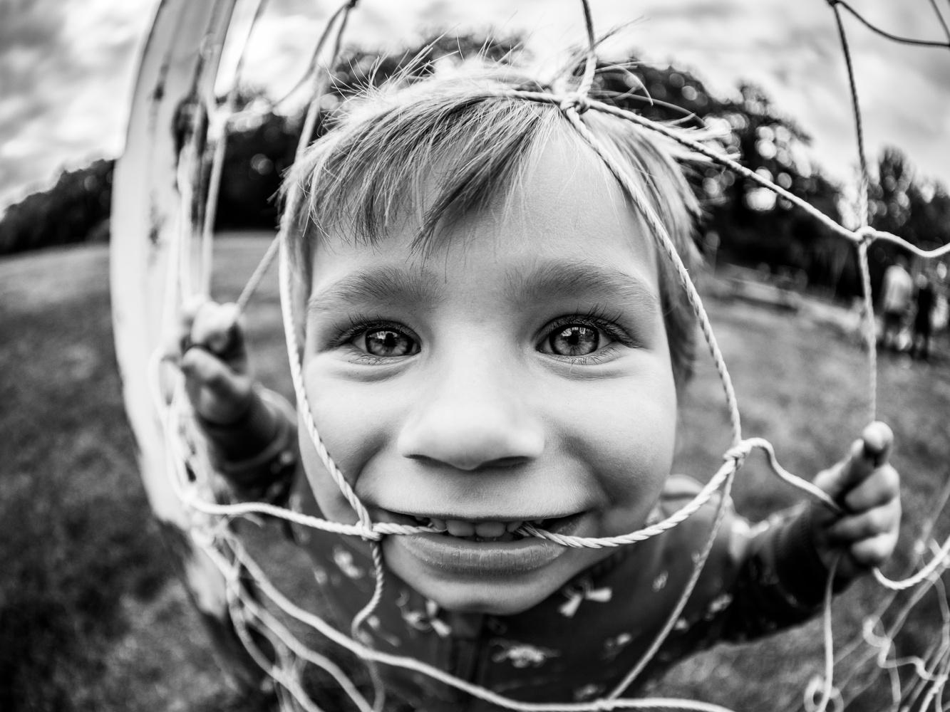 Fisheye portrait by Tomasz Kowalski