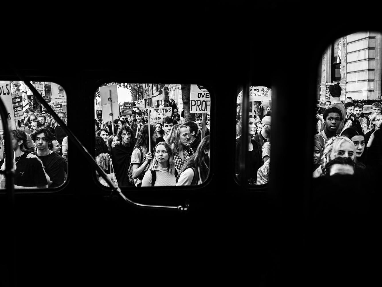 Protest by Tomasz Kowalski