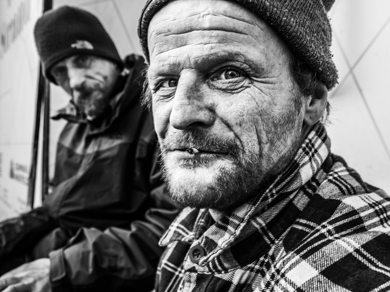 Street Portrait of Glen by Tomasz Kowalski