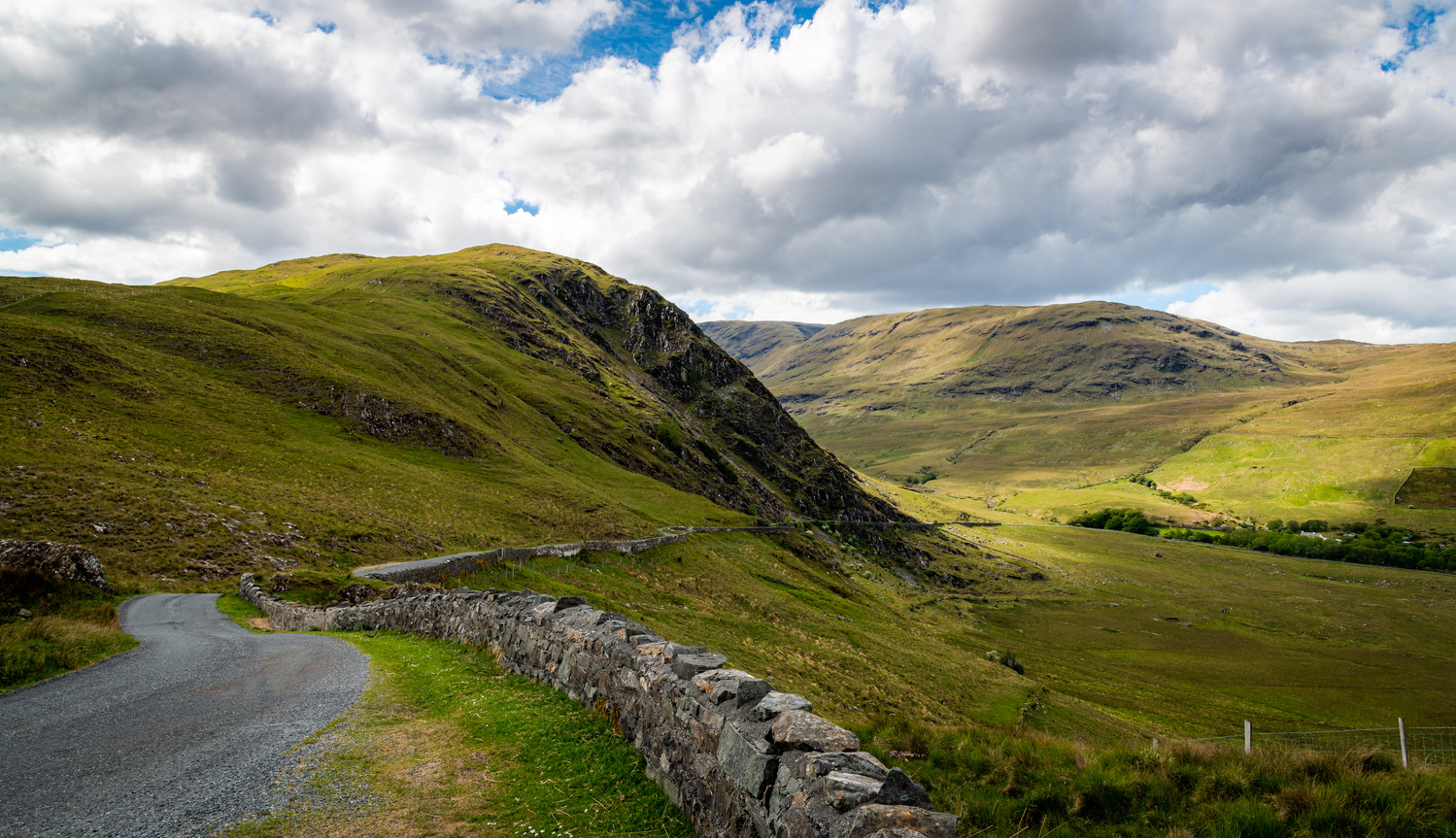 Erriff River Valley by Ken Hilts
