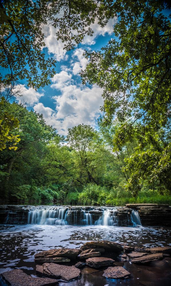 Waterfall Glen by Ken Hilts