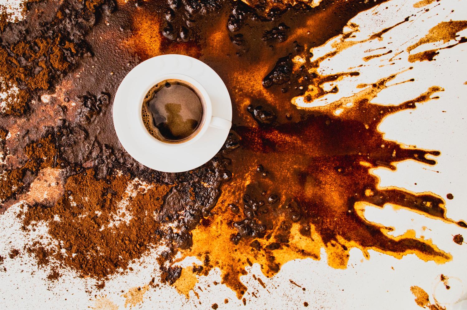 Tihožitje s skodelico kave I. by Marko Pleterski