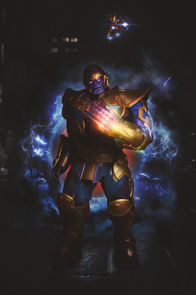 Thanos Unleashed by Mauro Scattolini