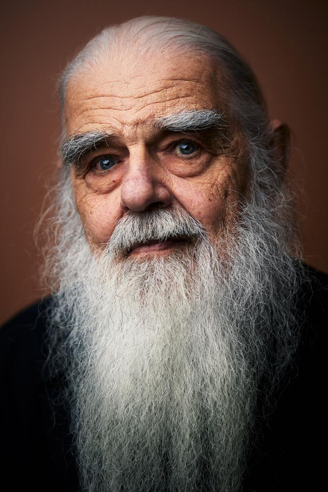 Father Bob - Wisdom by Mauro Scattolini