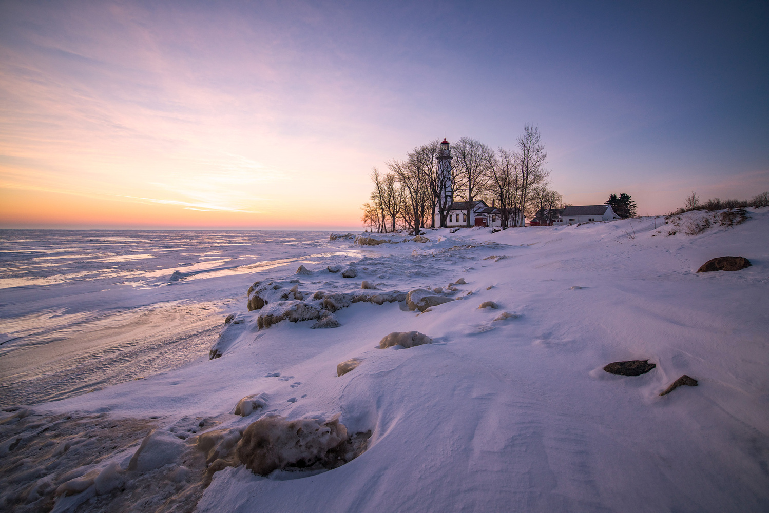 The thumb of Michigan by Eric Stadler