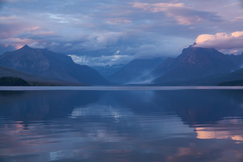 Smoky Lake McDonald by Eric Stadler