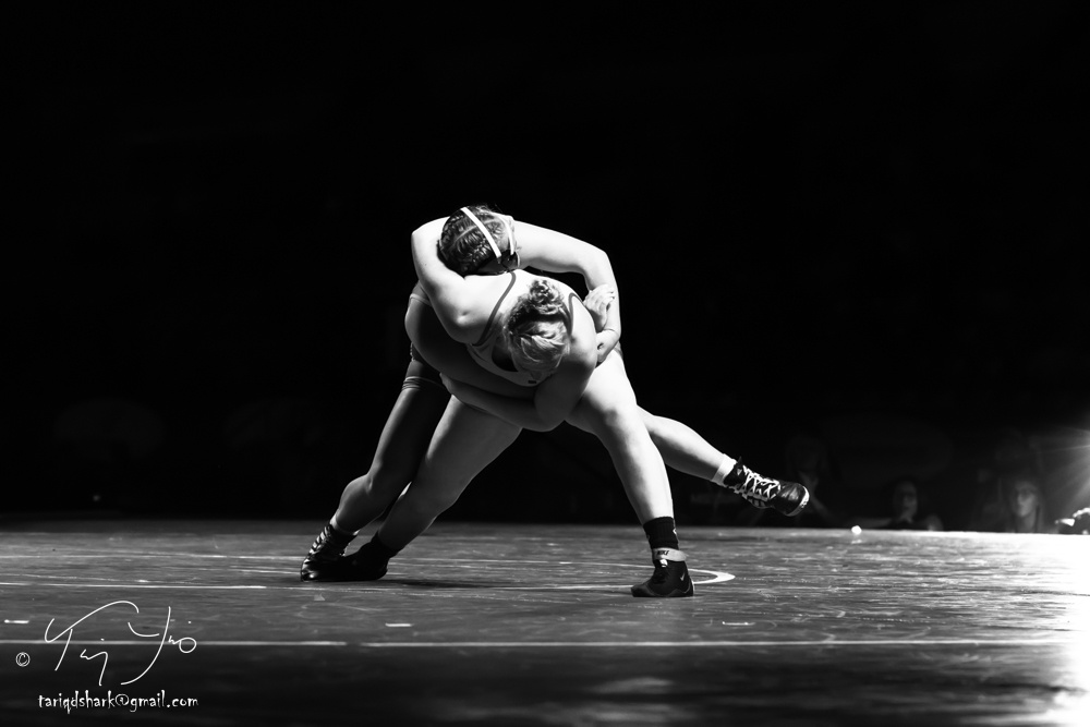 Jesse Kirby, Virginia vs Jaycee Foeller, Missouri by Tariq Yunis