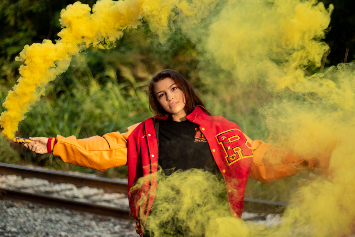 Yellow Smoke by Tariq Yunis