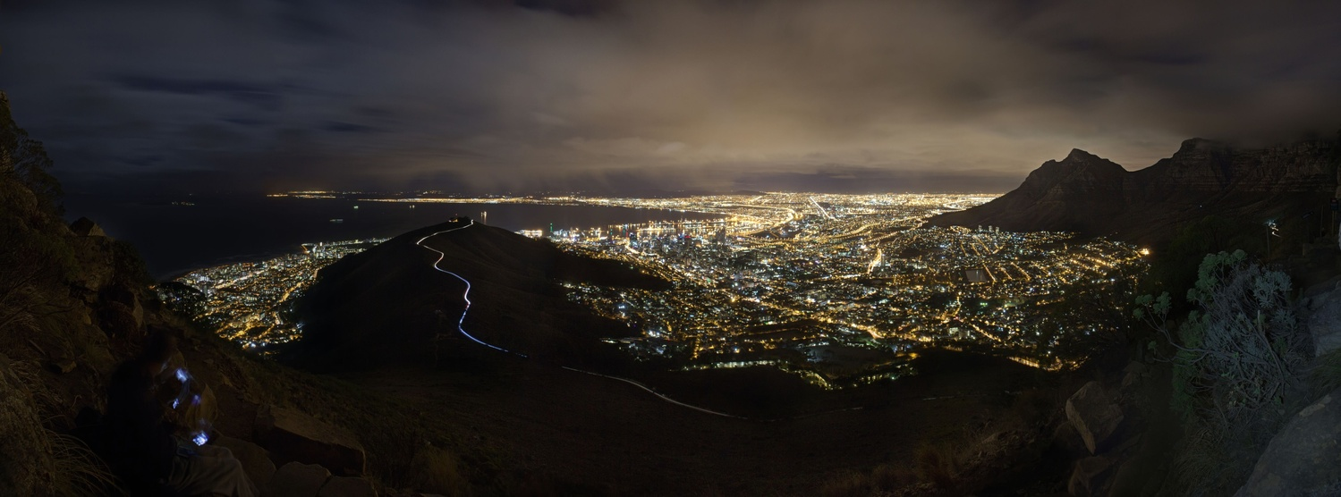 Cape Town by Night by Alex Sokolovs
